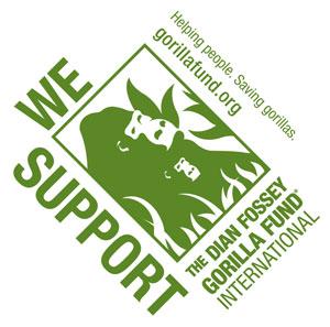 dian fossey gorilla fund logo